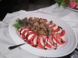 Fresh Tomato & Mushroom Appetizer