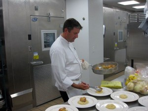 Chef Jeff Kelley at the Culinary Institute